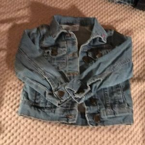 (D) Carter's size 3t denim girls jacket